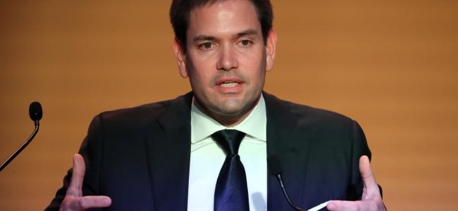 Marco Rubio propone aplicar un plan Marshall en Venezuela