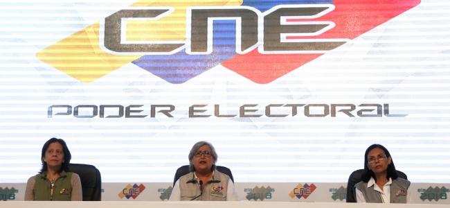 """CNE """"legitimará"""" a Maduro como presidente en horas del mediodía de este 22 Mayo"""