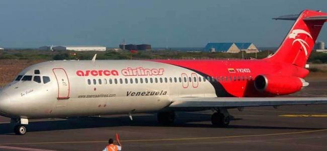 Aerolínea Aserca Airlines cierra operaciones en Venezuela
