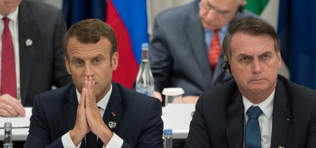 Bolsonaro dice que aceptará ayuda del G7 para el Amazonia… pero si Macron le pide perdón